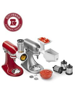 KitchenAid KSMFPPA Mixer Attachment Pack - White