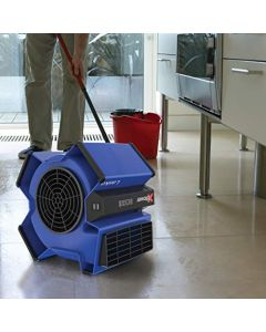 Lasko High Velocity X-Blower Utility Fan For Cooling - Ventilating - Exhausting And Drying At Home - Job Site And Work Shop - Blue X12905