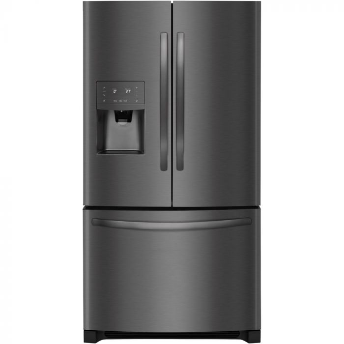 Frigidaire FFHB2750TD 26.8 Cu. Ft. French Door Refrigerator - Black stainless steel