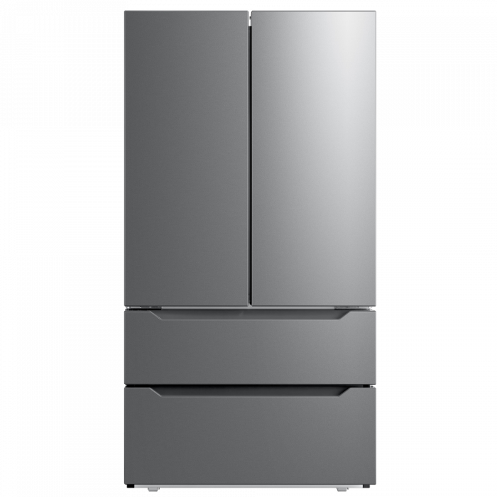 Toscana FD225SS 22.5CFT French Door Refrigerator - Stainless Steel