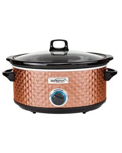 Brentwood Select Sc-157C Slow Cooker - 7 Quart - Copper
