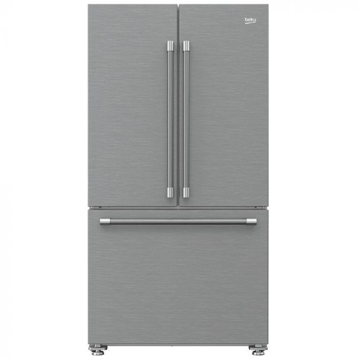 Beko BFFD3624SS 19.86 Cu.Ft. Counter Depth Freestanding French Door Refrigerator