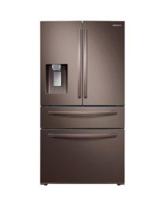 Samsung RF28R7201DT 28 Cu. Ft. 4-Door French Door Refrigerator- Tuscan Stainless Steel