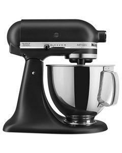 KitchenAid 5-Qt. Tilt-Head Stand Mixer KSM150PSBM Artisan Series - Black Matte