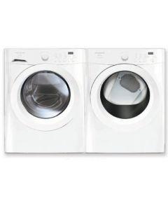 Frigidaire Bundle:  Frigidaire FAFW3001LW Affinity 3.0 cu.ft. Front Load Washer + Frigidaire FAQG7111LW 7.0 Cu. Ft. Gas Dryer - White
