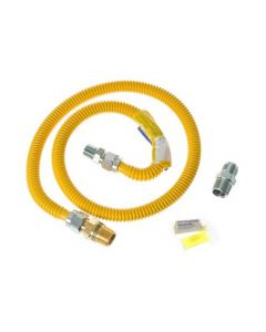 GE 4-Ft. Gas Range Connector Kit With Auto Shut Off