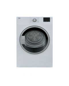 "Beko BDV7200X 24"" 3.7 cu.ft. White Front Load Electric Dryer"