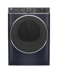 GE GFD85GSPNRS 7.8 Cu. Ft. 12-Cycle Gas Dryer with Steam - Sapphire Blue