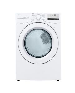 LG DLG3401W 7.4 Cu. Ft. 8-Cycle Gas Dryer with FlowSense - White