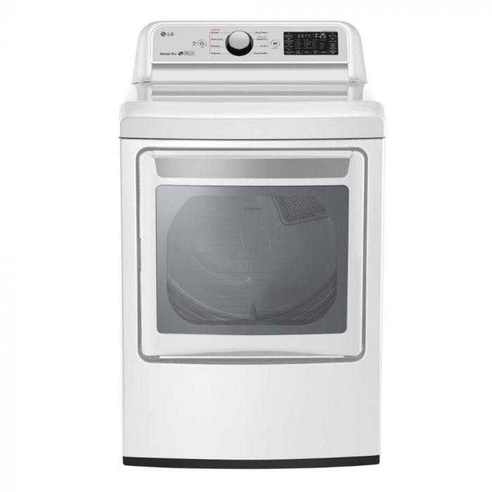 LG DLG7301WE 7.3 Cu. Ft. 9-Cycle Gas Dryer - White