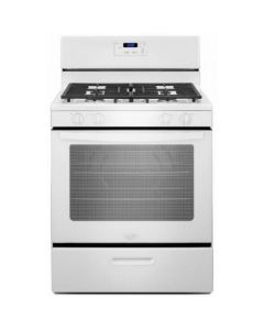 Whirlpool WFG320M0BW 5.1 cu. ft. Freestanding Gas Range - White