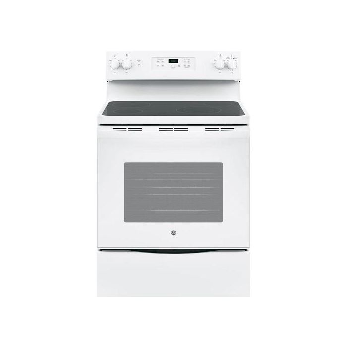 GE JBS60DKBB 5.3 Cu. Ft. Freestanding Electric Range - White
