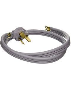 GE 4' 40amp 3 Wire Range Cord - Gray