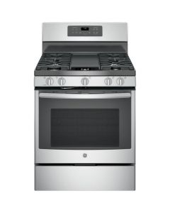 "GE JGB700SEJSS 30"" Freestanding Gas Convection Range - Stainless Steel"