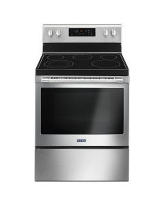 Maytag MER6600FZ 30-Inch 5.3 Cu. Ft. Freestanding Electric Range - Stainless Steel