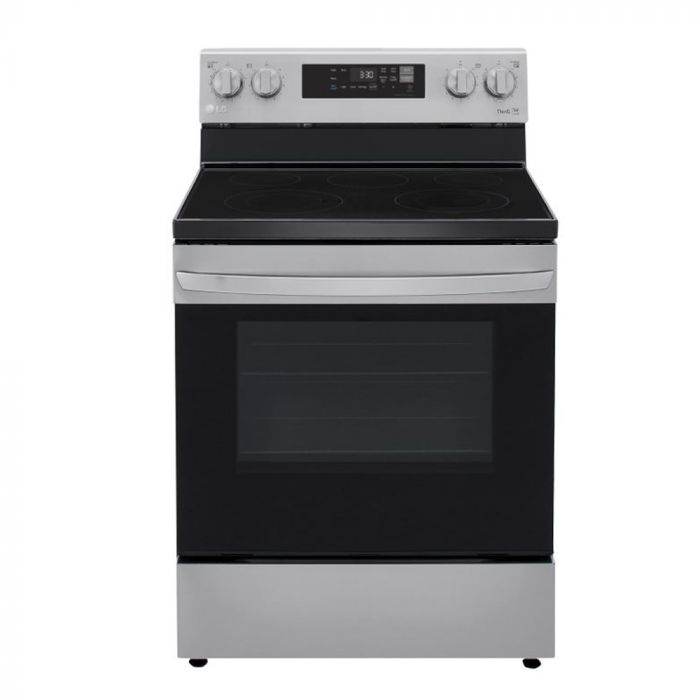 LG LREL6321S 6.3 cu. ft. Electric Smart Range - Stainless Steel
