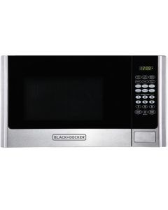 Black & Decker EM925AME/P1 0.9 cu. ft. 900 W Microwave - Stainless Steel
