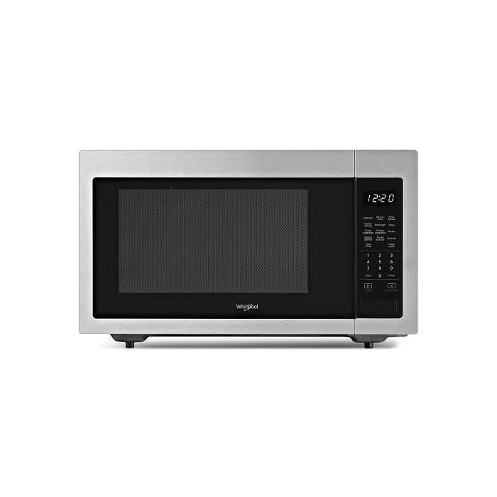Whirlpool WMC30516HZ 1.6 Cu. Ft. 1,200-Watt Countertop Microwave - Stainless Steel