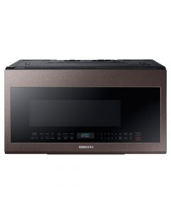 Samsung  2.1 Cu. Ft. Over-the-Range Microwave with Sensor Cooking - Tuscan Stainless Steel