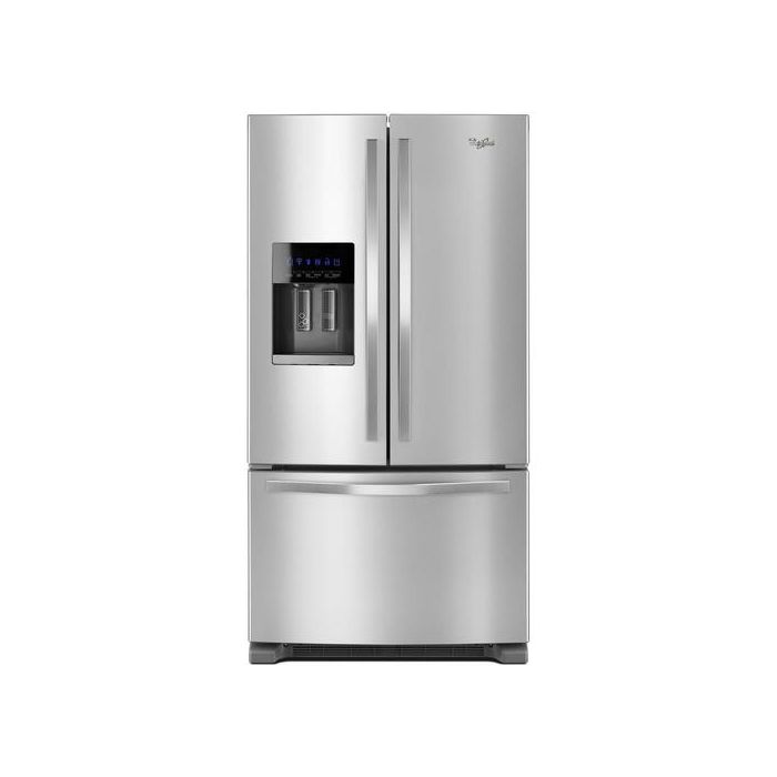 Whirlpool WRF555SDFZ 24.7 Cu.Ft. French Door Refrigerator with Water Dispenser - Stainless Steel