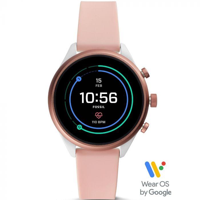 Fossil Women's Sport Blush Smartwatch