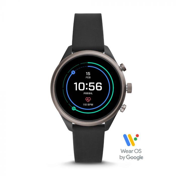 Fossil Women's Sport Smartwatch - Black