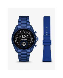 Michael Kors Men's Aluminum Smartwatch Gen 5 Bradshaw - Navy
