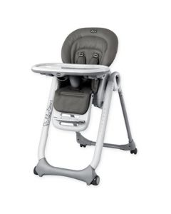 Chicco Polly2Start High Chair- Graphite