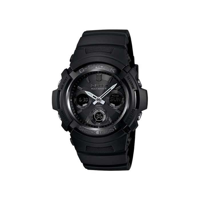 Casio G-Shock Men's Solar Atomic Watch - Black