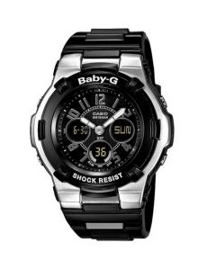 Casio Baby-G Women's Analog Digital Resin Strap Watch - Black