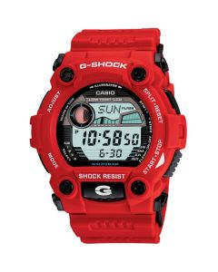 Casio G-Shock Men's Resin Strap Watch - Red