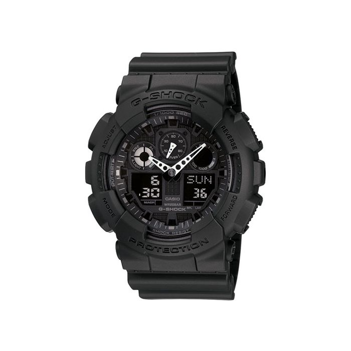 Casio G-Shock Men's Resin Strap Watch - Black