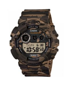 Casio G-Shock Men's Digital Resin Strap Watch - Woodland Camouflage