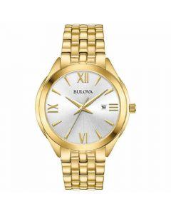 Bulova Men's Classic Watch - Gold Tone