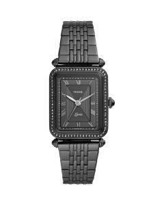 Fossil Women's Lyric Black Stainless Steel Bracelet Watch 28mm