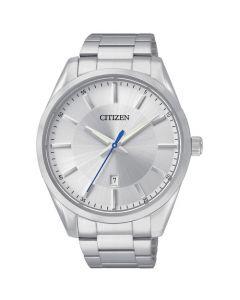Citizen Men's Stainless Steel Bracelet Watch - Silver