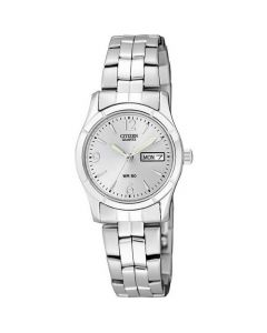 Citizen Women's Stainless Steel Bracelet Watch - Silver