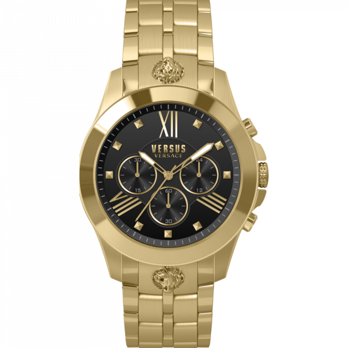 Versus Versace Women's Quartz Chronograph Movement Bracelet Watch - Gold Tone