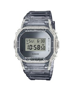 G-Shock Men's Digital Clear Resin Strap Watch - Clear