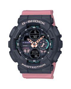 Casio G-Shock Ladies' S-Series Resin Band Watch - Pink