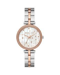 Michael Kors Women's Maci Two-Tone Stainless Steel Bracelet Watch - Rose/ Gold