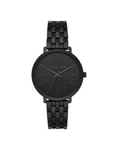 Michael Kors Women's Pyper Stainless Steel Bracelet Watch - Black