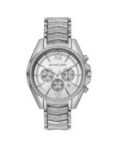 Michael Kors Women's Chronograph Whitney Stainless Steel Pavé Bracelet Watch