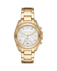 Michael Kors Women's Chronograph Blair Stainless Steel Watch - Gold