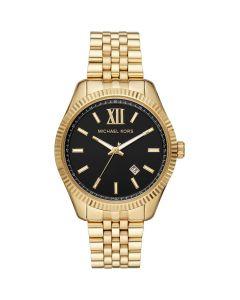Michael Kors Men's Lexington Three-Hand Stainless Steel Watch - Gold-Tone