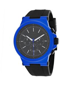 Michael Kors Men's Dylan Black Watch - Black/Blue