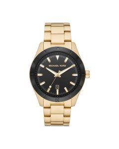 Michael Kors Men's Watch Layton Three - Gold Tone