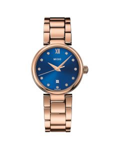 Mido Women's Baroncelli Donna Stainless Steel Bracelet Watch - Rose Gold