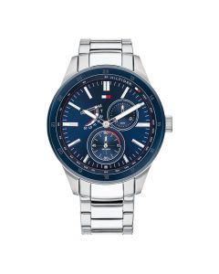 Tommy Hilfiger Men's Stainless Steel Chronograph Watch - Silver