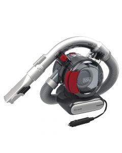 BLACK+DECKER Flex Car Vacuum - 12V Corded  - BDH1200FVAV - Iron/Red